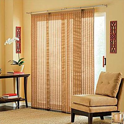 Бамбуковые шторы на дверь это