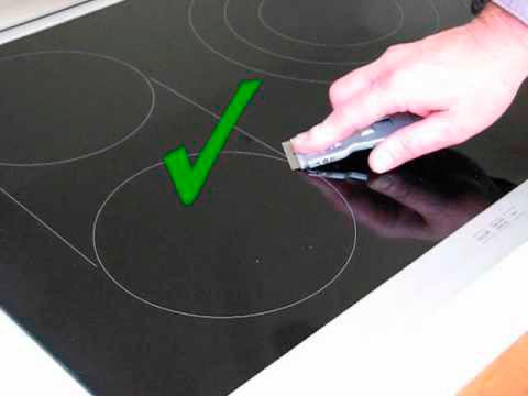 Средства для чистки индукционной плиты neff технический контроль керамических плит