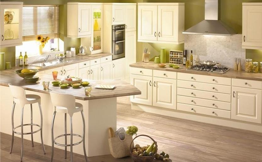 Кухонный гарнитур в эко-стиле