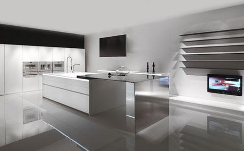 кухни в стиле минимализм фото