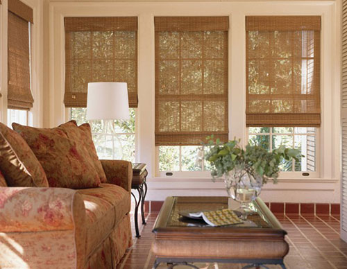 Достоинства бамбуковых штор