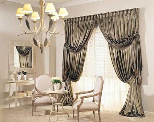 Как подобрать шторы в интерьер гостиной