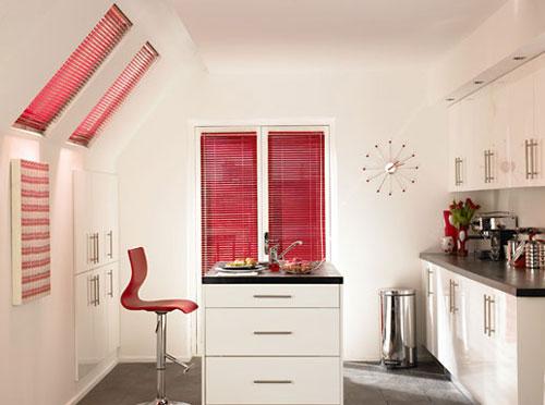 Как выбрать цвет жалюзи на кухню