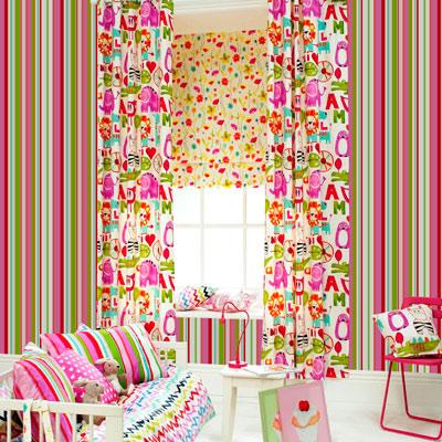 Как выбрать рулонные шторы для детей