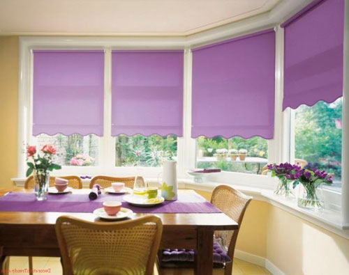 Какие шторы на кухню