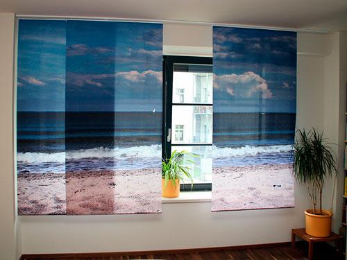 Особенности рулонных штор с фотопечатью
