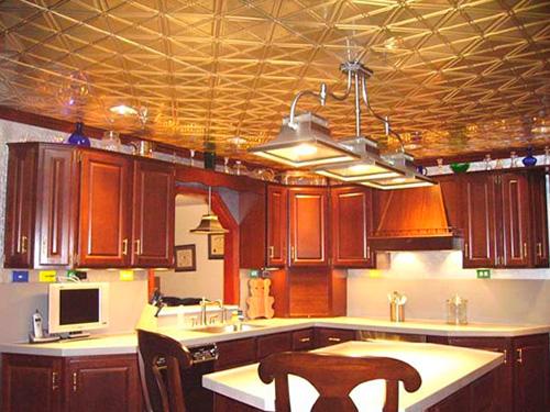 Commercial kitchen ceiling tile