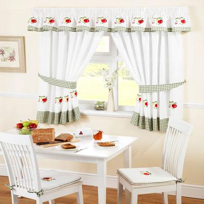 Современные ткани штор для кухни