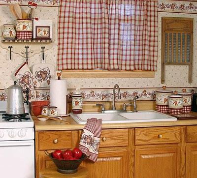 Современный цвет штор для кухни