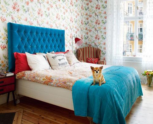 какие обои для спальни: