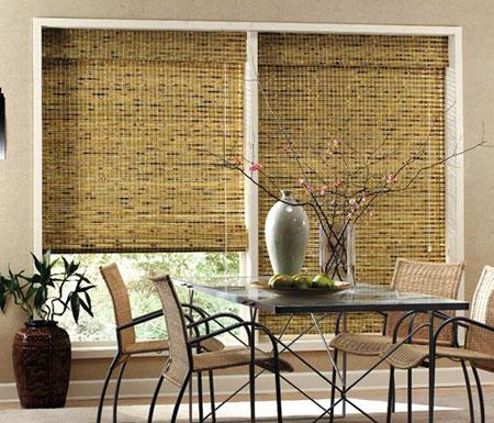 Выбор бамбуковых штор