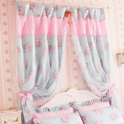 шторы в стиле шебби шик фото