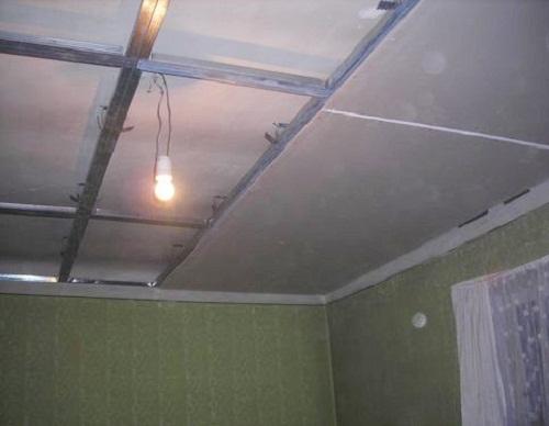 Как лучше сделать потолок из гипсокартона фото 161