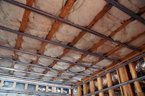 Крыш конструкции теплоизоляции