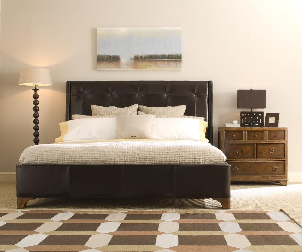 Освещение спальни в американском стиле