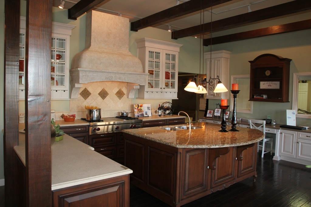 Детали интерьера кухни в американском стиле