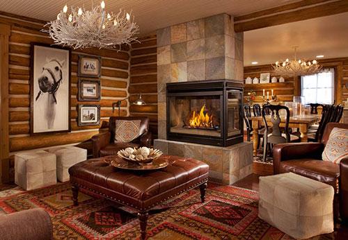 Декор гостиной в русском стиле