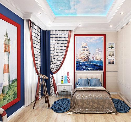Декор интерьера в морском стиле