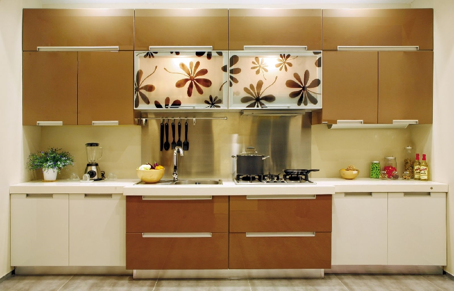 Интерьер кухни в европейском стиле