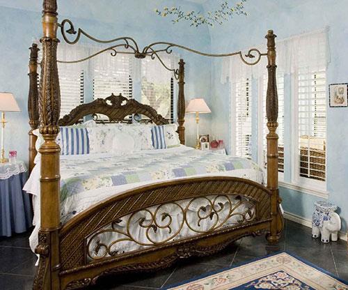Фото арт нуво в спальне
