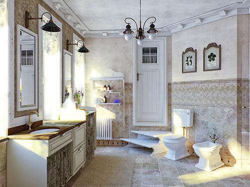 Фото ванной в стиле прованс