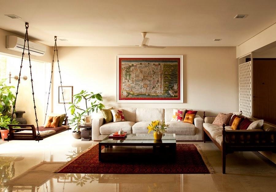 Архитектура индийского стиля в интерьере
