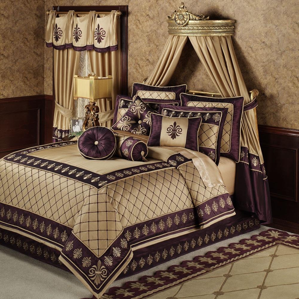 Интерьер спальни в стиле ампир