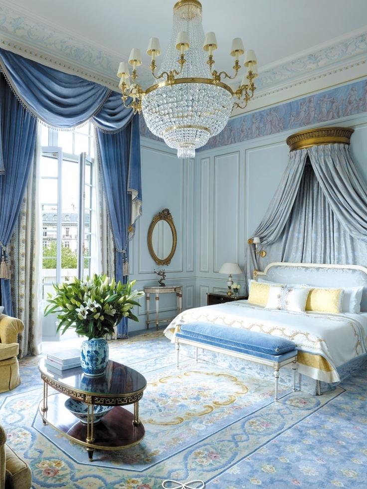 Декор спальни в стиле ампир