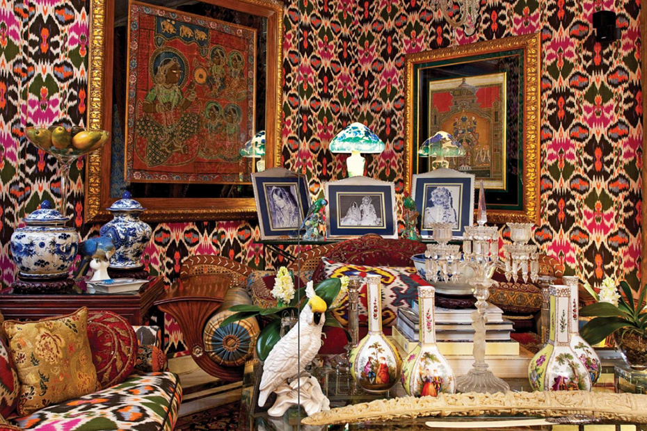 Интерьер комнаты в китч стиле