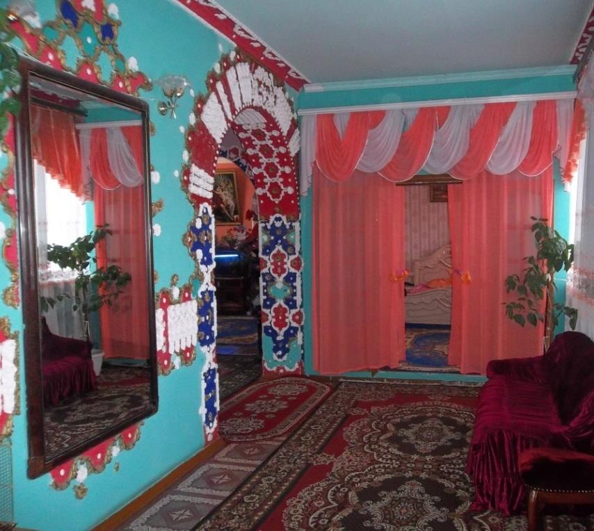 Пример оформления комнаты в китч стиле