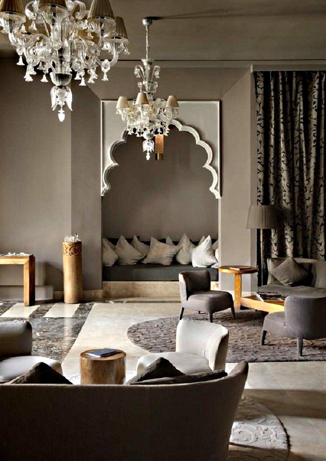 Архитектурные формы в марокканском стиле