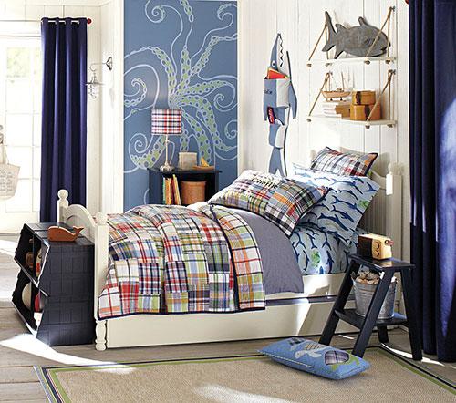 Мебель интерьера в морском стиле