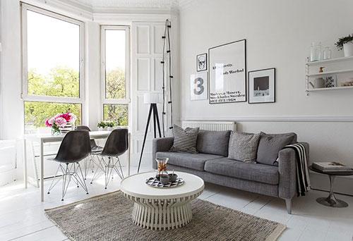 Мебель интерьера в скандинавском стиле
