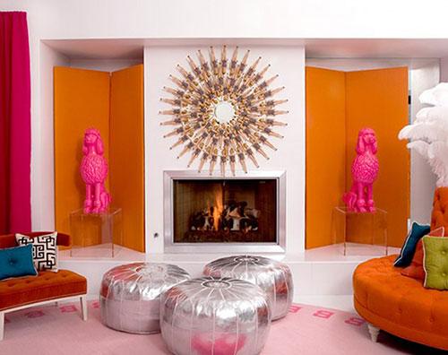Мебель стиля поп арт