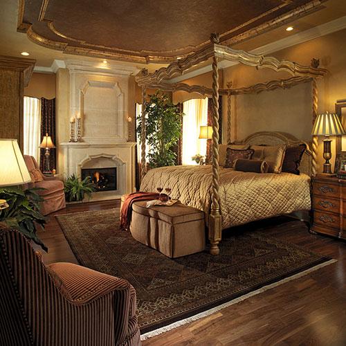 Оформление спальни в средиземноморском стиле