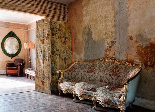 Wandfarbe vintage