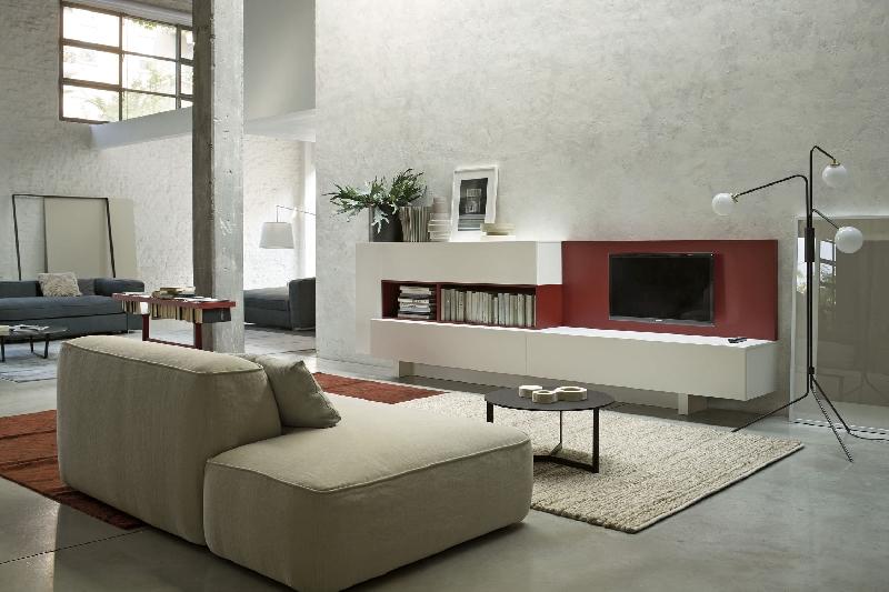 Освещение гостиной в стиле контемпорари