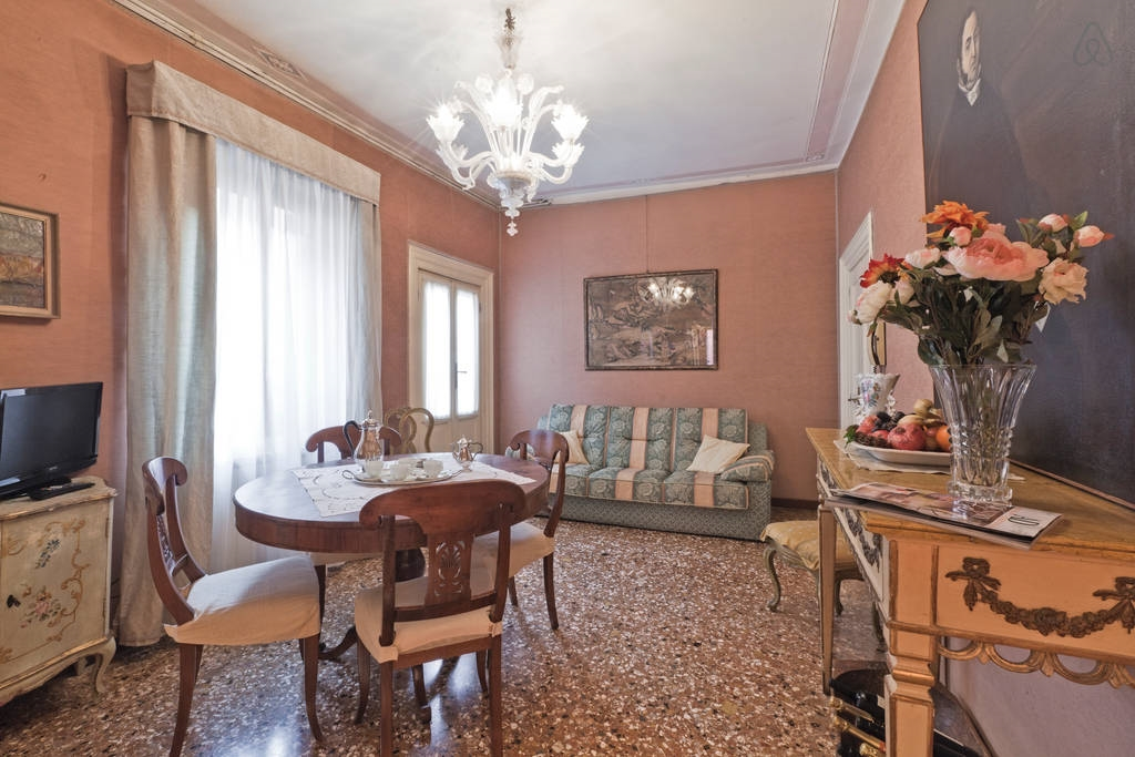Цветовая гамма венецианского стиля