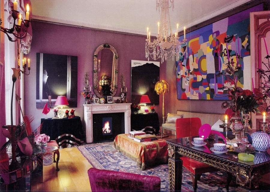 Декорирование комнаты в венецианском стиле