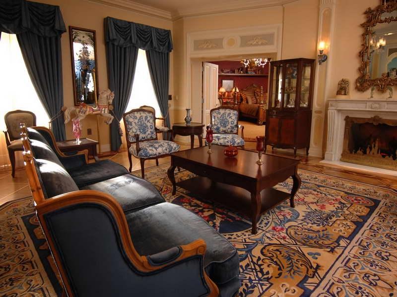 Планировка помещения в викторианском стиле